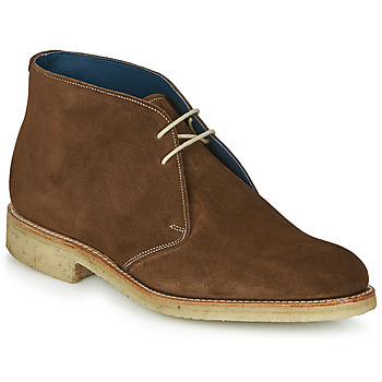 Shoes Men Mid boots Barker CONNER Brown