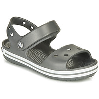 Shoes Children Sports sandals Crocs CROCBAND SANDAL KIDS  black / White