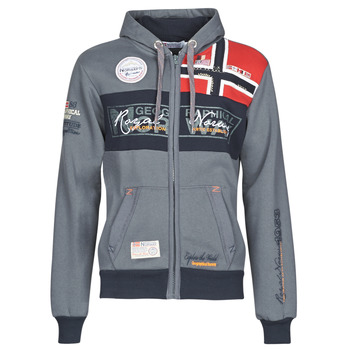 material Men sweaters Geographical Norway FLYER Grey / Dark