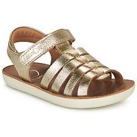 Shoes Girl Sandals Shoo Pom GOA SPART Gold