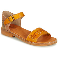 Shoes Women Sandals Casta INOVA Yellow / Python