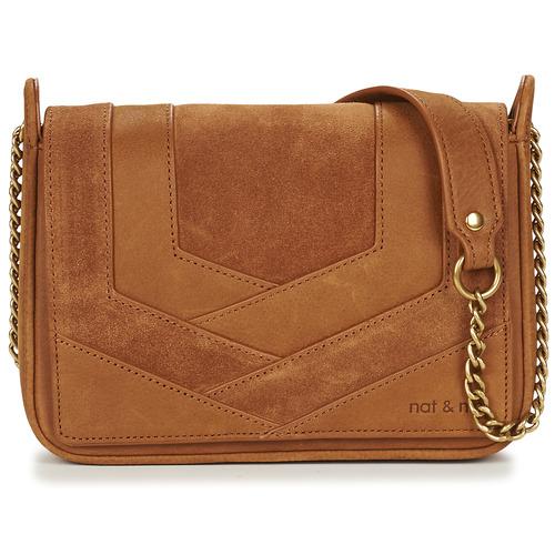 Bags Women Shoulder bags Nat et Nin CAPRI Camel