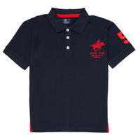 material Boy short-sleeved polo shirts Geographical Norway KAMPAI Marine