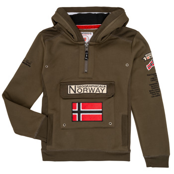 material Boy sweaters Geographical Norway GYMCLASS Kaki