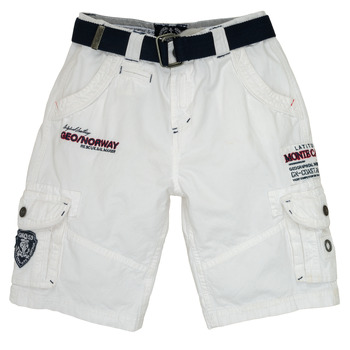 material Boy Shorts / Bermudas Geographical Norway POUDRE White