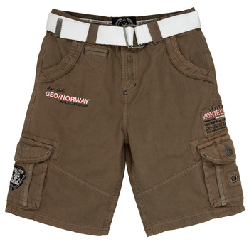 material Boy Shorts / Bermudas Geographical Norway POUDRE Grey