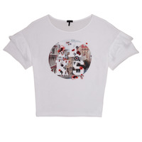 material Girl short-sleeved t-shirts Ikks DIBILIOU White