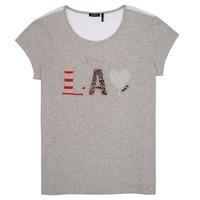 material Girl short-sleeved t-shirts Ikks ZOKO Grey