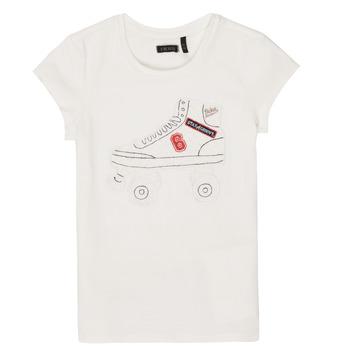 material Girl short-sleeved t-shirts Ikks NADANA White