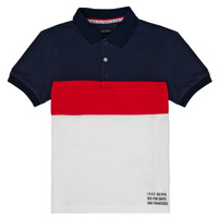 material Boy short-sleeved polo shirts Ikks LORIE White