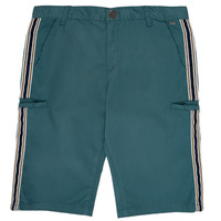 material Boy Shorts / Bermudas Ikks MANUELA Blue / Green