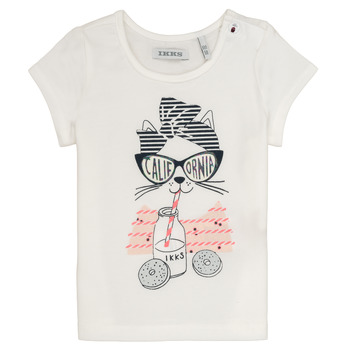 material Girl short-sleeved t-shirts Ikks MEOLIA White