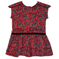 material Girl Short Dresses Ikks MAGGIE Grey / Red