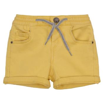 material Boy Shorts / Bermudas Ikks XAVIER Yellow