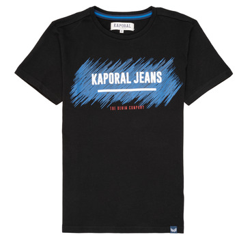 material Boy short-sleeved t-shirts Kaporal EDMUN Black