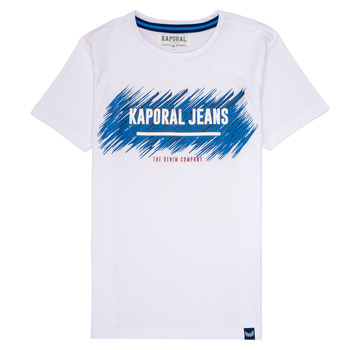 material Boy short-sleeved t-shirts Kaporal EDMUN White