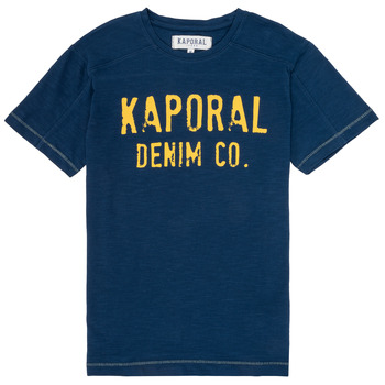 material Boy short-sleeved t-shirts Kaporal EDSON Marine