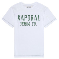 material Boy short-sleeved t-shirts Kaporal EDSON White