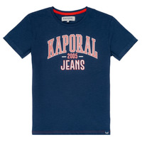 material Boy short-sleeved t-shirts Kaporal ERNIE Marine