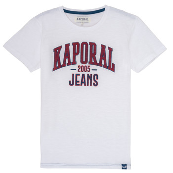 material Boy short-sleeved t-shirts Kaporal ERNIE White