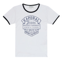material Boy short-sleeved t-shirts Kaporal EVOLI White
