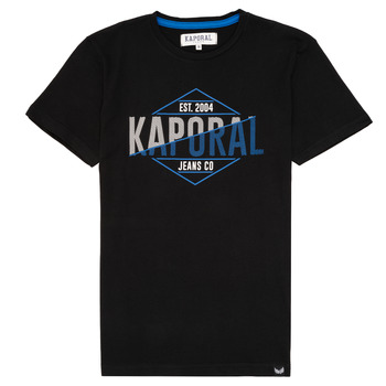 material Boy short-sleeved t-shirts Kaporal EWART Black
