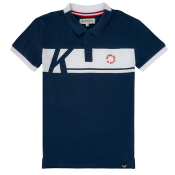 material Boy short-sleeved polo shirts Kaporal ERUDI Marine