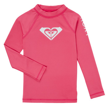Underwear Girl Bodysuits Roxy WHOLE HEARTED SS Pink