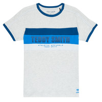material Boy short-sleeved t-shirts Teddy Smith BING Grey