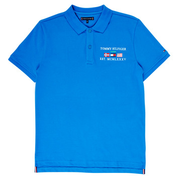 material Boy short-sleeved polo shirts Tommy Hilfiger  Blue