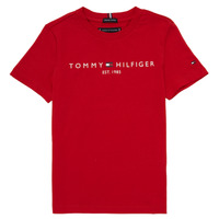 material Boy short-sleeved t-shirts Tommy Hilfiger  Red
