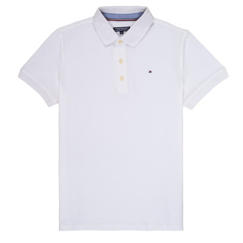 material Boy short-sleeved polo shirts Tommy Hilfiger KB0KB03975 White