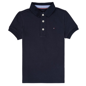 material Boy short-sleeved polo shirts Tommy Hilfiger KB0KB03975 Marine