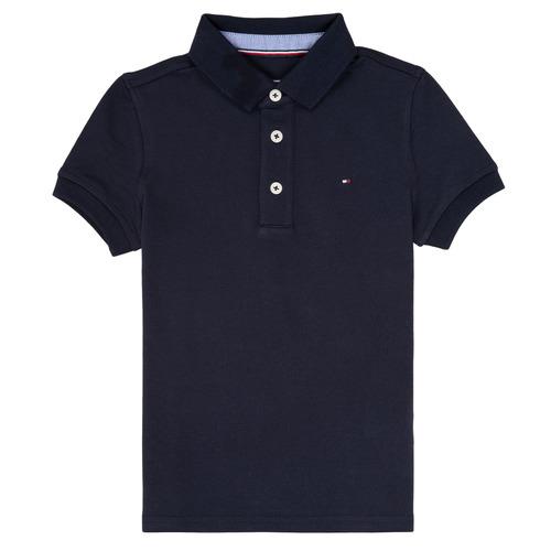 material Boy short-sleeved polo shirts Tommy Hilfiger KB0KB03975 Marine