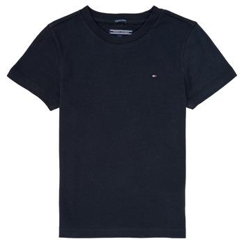 material Boy short-sleeved t-shirts Tommy Hilfiger KB0KB04140 Marine