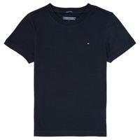 material Boy short-sleeved t-shirts Tommy Hilfiger  Marine