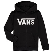 material Boy sweaters Vans BY VANS CLASSIC ZIP HOODIE Black
