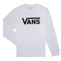 material Children Long sleeved shirts Vans BY VANS CLASSIC LS White