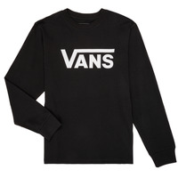 material Boy Long sleeved shirts Vans BY VANS CLASSIC LS Black