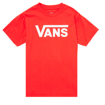 material Children short-sleeved t-shirts Vans BY VANS CLASSIC Black