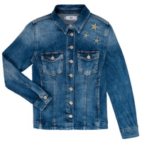 material Girl Denim jackets Le Temps des Cerises ABIGAIL Blue