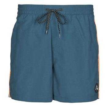 material Men Trunks / Swim shorts Quiksilver BEACH PLEASE Blue
