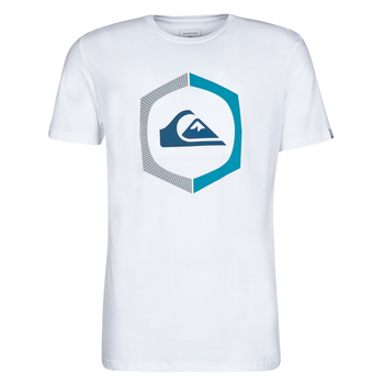 material Men short-sleeved t-shirts Quiksilver SURE THING White