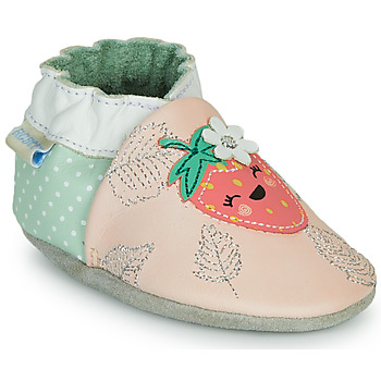 Shoes Girl Slippers Robeez FRUIT'S PARTY Pink / Green