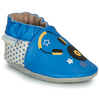 Shoes Children Slippers Robeez MUSIC SOUND Blue / Beige