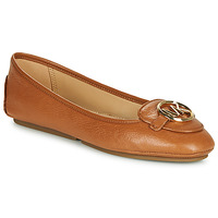 Shoes Women Ballerinas MICHAEL Michael Kors LILLIE Cognac