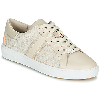 Shoes Women Low top trainers MICHAEL Michael Kors KEATON STRIPE Beige