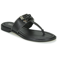 Shoes Women Flip flops MICHAEL Michael Kors RIPLEY THONG Black