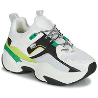 Shoes Women Low top trainers Buffalo 1630273 White / Black / Green