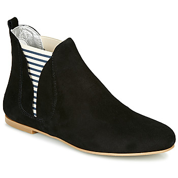Shoes Women Mid boots Ippon Vintage PATCH FLYBOAT Black